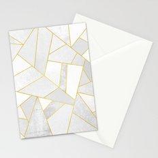 White Stone Stationery Cards