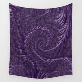 Deep Purple Wall Tapestry