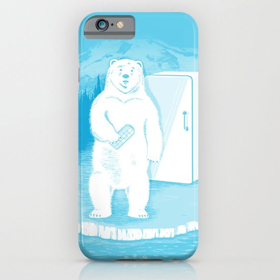 Save the polar bears, make more ice cubes. iPhone & iPod Case