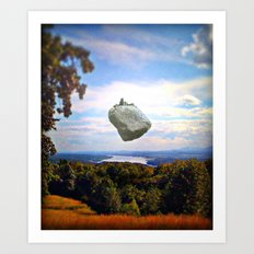 Mountain House Art Print
