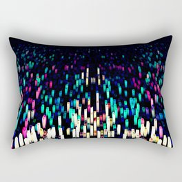 rainbow buildings Rectangular Pillow