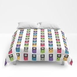 Gameboy Pattern Comforters