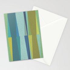 Mid Century Herringbone 1 Stationery Cards