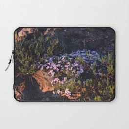 Wildflowers at Dawn - Nature Photography Laptop Sleeve