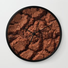 Dark chocolate cookie Wall Clock