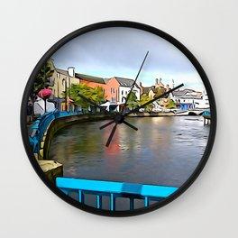 Irish Charm in Sligo Town Wall Clock