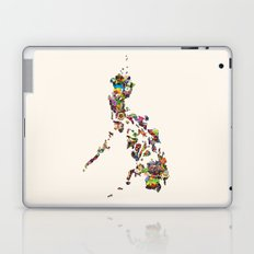 7,107 Islands   A Map of the Philippines Laptop & iPad Skin