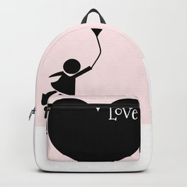 flying with your love Backpack