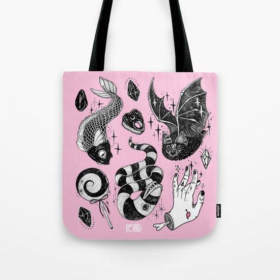 Pink Magic Tote Bag