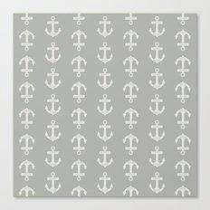 Oyster Bay Anchor Canvas Print