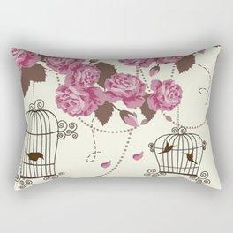 Art Flowers V12 Rectangular Pillow