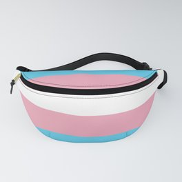 Transexual Flag Fanny Pack