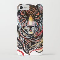 tiger iPhone & iPod Cases featuring Tiger by Felicia Cirstea