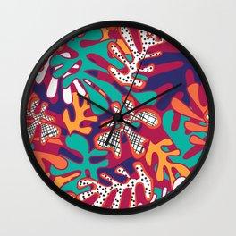 Matisse Pattern 009 Wall Clock
