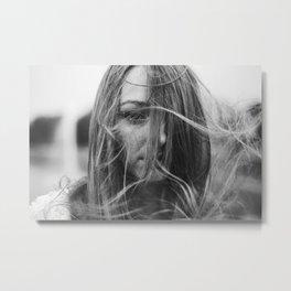 Wind Metal Print