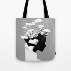 It's a cloudy day Tote Bag