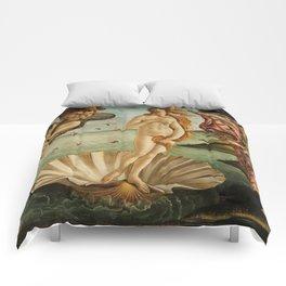 The Birth of Venus (Nascita di Venere) by Sandro Botticelli Comforters