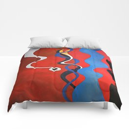 smart red Comforters