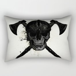 Viking Skull Rectangular Pillow
