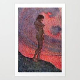"""""""The soul has that measureless pride which revolts from every lesson but its own"""" Art Print"""