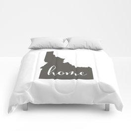 Idaho is Home Comforters