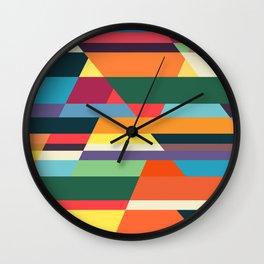 The hills run to infinity Wall Clock