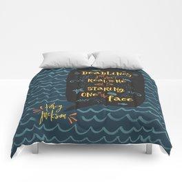 Deadlines. Percy Jackson Comforters