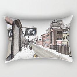 Winter in Toronto Rectangular Pillow