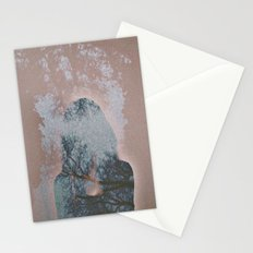 Hiding Behind Stationery Cards