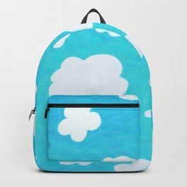 Happy Little Clouds Backpack