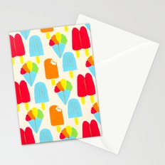 Hypersaturated Summer Treats Stationery Cards