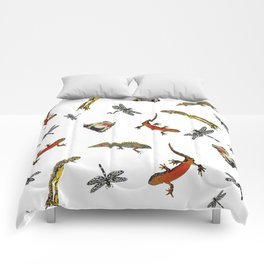 Let's go to the pond Comforters