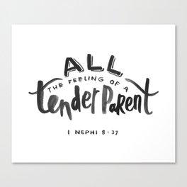 1 Nephi 8:37 Canvas Print