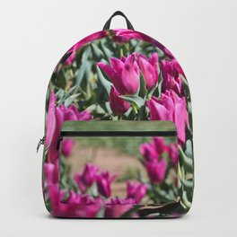 Tulips 13 #floral #tulip Backpack