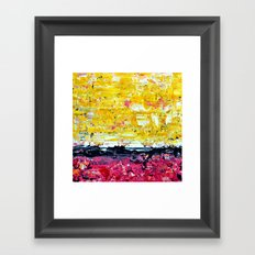 Color Combo #1 Framed Art Print