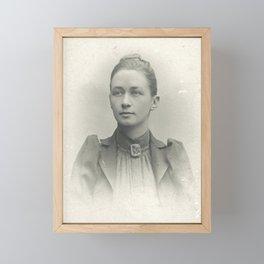 Hilma af Klint Vintage Photo Framed Mini Art Print