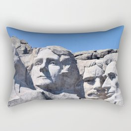 Mount Rushmore Rectangular Pillow