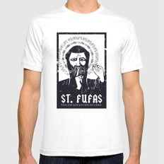 St. Fufas Mens Fitted Tee White MEDIUM
