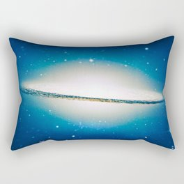 The little Galaxy (Majestic Sombrero Galaxy) Rectangular Pillow
