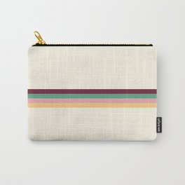 4 Minimal Retro Stripes 01 Carry-All Pouch