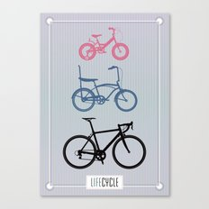 Lifecycle Canvas Print