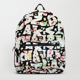 ABC graffiti pattern 2 - graffiti letters alphabet   Backpack