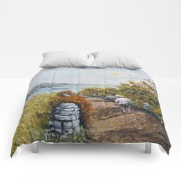 Gower Gold Comforters
