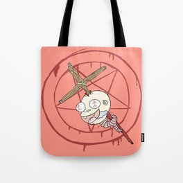 Evil Baby Tote Bag