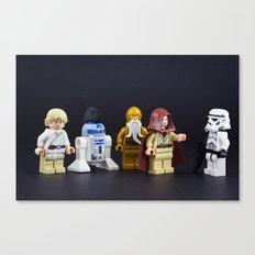 Not the droids Canvas Print