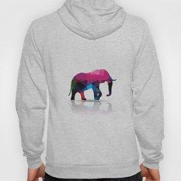 Geometric elephant Hoody