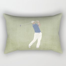 SUMMER GAMES / Golf Rectangular Pillow