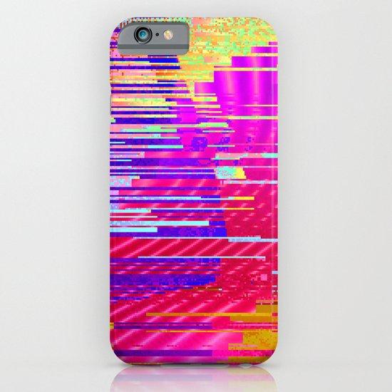 sunset glitch iPhone & iPod Case