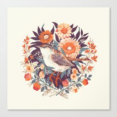 Wren Day Canvas Print