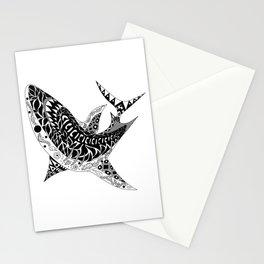Mr Shark ecopop Stationery Cards
